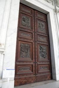 Basilica San Paolo - Porta di Bronzo